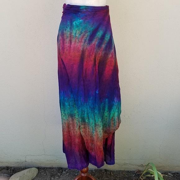 none Dresses & Skirts - Rainbow wrap skirt